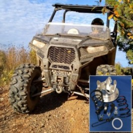 """Adjustable clutch kit for the 2016-2019 Polaris 900cc RZR models -28"""" and larger tires (* 2 seat version)"""