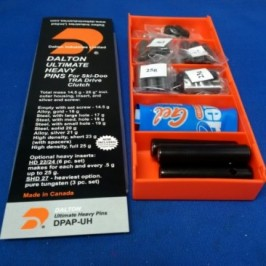DaltonPro Ultimate Heavy Pins for Ski- Doo TRA Drive Clutch 14.5g- 25g*