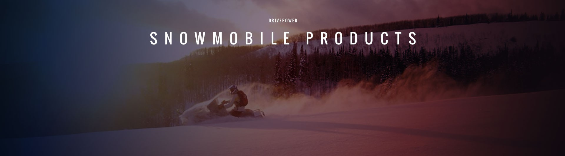 Drivepower Snowmobile Products